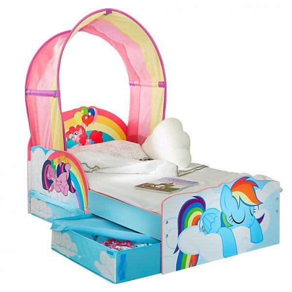Siste My Little Pony barneseng med oppbevaring - Fri frakt og rask levering! KI-77